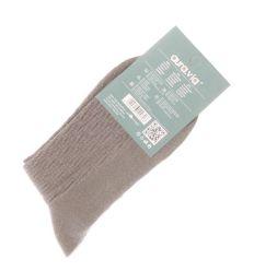 Anyagában mintás női pamut normál zokni (N8780)