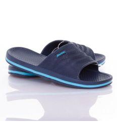 Feliratos, buborék mintás női, kamasz gumi papucs (T291-3)