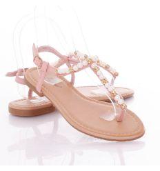 Gyöngyös, köves női lábujjközös női szandál (L51450,L51451,L51452)