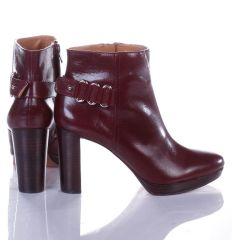 Nine West NWKALI bőr paltform magassarkú bokacipő