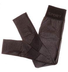 Sport feliratú, szára alján mintás, női leggings (A195-4)