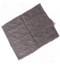 Fonott mintás, kötött csősál (VX6055)