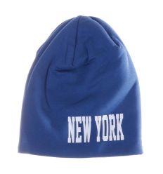 New York feliratos, polár béléses, pamut sapka (157)