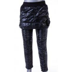 Bundás, műbőrös, lány szoknya-leggings (722)