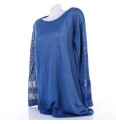 Armani Jeans hosszított, ujján csíkos női felső