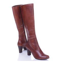 Caprice magassarkú bőr női csizma, belül vékony szivacsos jellegű béléssel (9-25514-25 300)