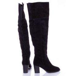 Zign velúrbőr női csizma, belül vékony szivacsos jellegű béléssel (ZI111MA0G)