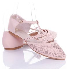 Strasszos szandál balerina (088-17)