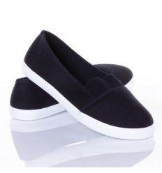 Belebújós vászon cipő gumis (875)