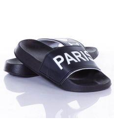 I Love Paris feliratos, könnyű női, kamasz gumi papucs (11658)