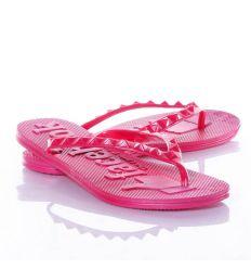 Facebook feliratos, lábujjközös női gumi papucs (WL-16)