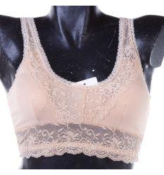Hátán is csipkés, kivehető szivacsos női top (LC6518)