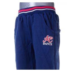 Dance feliratos, passzés aljú lány pamut melegítő alsó, nadrág (X-1500)