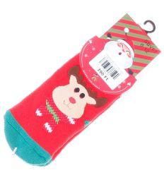 Vegyes téli mintás, vastagabb bébi zokni (SBV67)