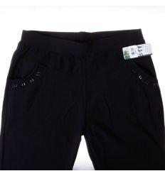 Moletti, zsebénél köves, szőrme béléses, rugalmas bambuszos nadrág, leggings (DL-T33)