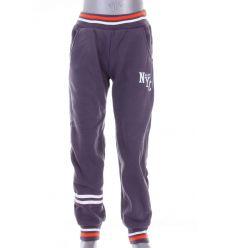New NYC feliratos, belül bolyhos, passzés aljú gyerek melegítő alsó, nadrág (PL-331)