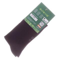 Egyszínű, bambuszos, vastag, termo férfi normál zokni (FFV002)