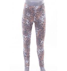Állat mintás, gumis derekú, rugalmas puha anyagú lány leggings (GA920)