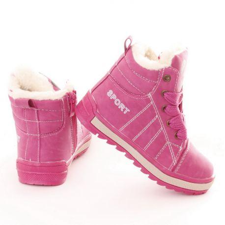 Bundás macis nyelvű fűzős-cipzáros lány magasszárú cipő de0fed4ca5
