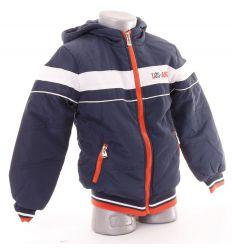 Polár béléses kapucnis fiú kabát Los Angeles feliratú (X-1485)